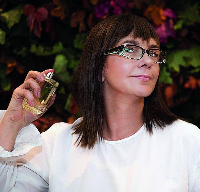 Trzeba mieć nos, żeby pracować przy produkcji perfum