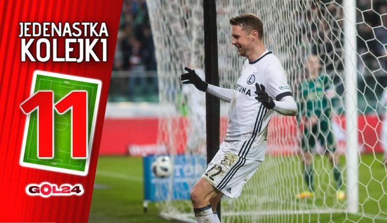Jedenastka 23. kolejki Lotto Ekstraklasy według GOL24 [GALERIA]