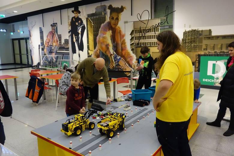 Plac budowy Lego w łódzkiej Sukcesji [ZDJĘCIA]