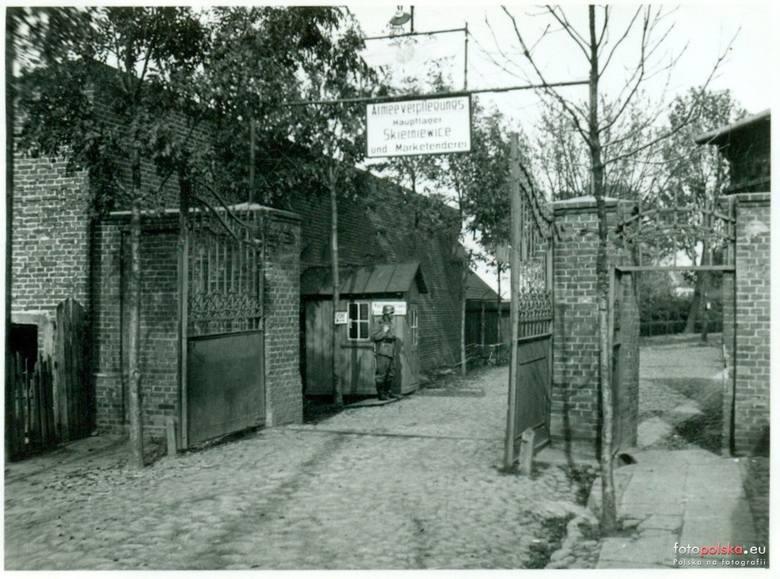 11. 1941, Armeeverpflegungs Hauptlager Skierniewice and Marketenderei. Prawdopodobnie teren dzisiejszego FUMOSu