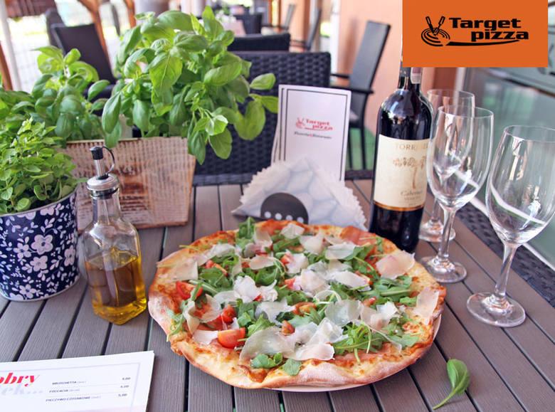 Zamawiaj na dowóz lub wynos w Target Pizza!