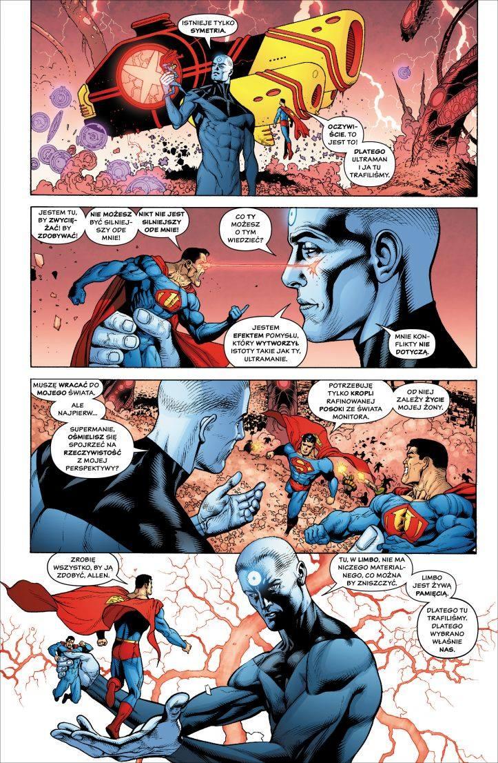 """Album """"DC Deluxe. Ostatni kryzys"""" to nie tylko świetny scenariusz i pełna przepychu opowieść, ale również genialne dzieło rysunkowe"""