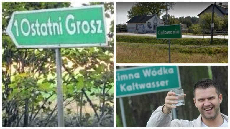 Krótkie, długie, zabawne, czasem wręcz kuriozalne. Polskie wsie mogą się pochwalić wyjątkowymi nazwami