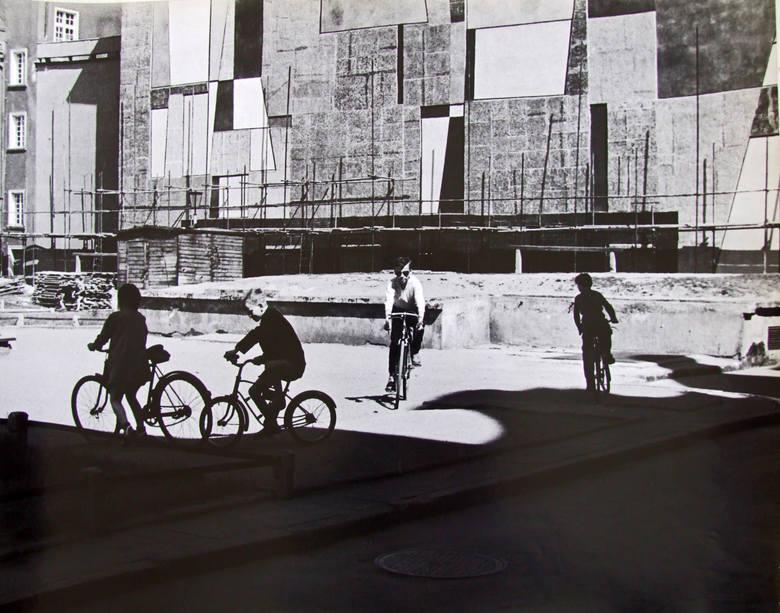 Gdańskie podwórko, 1957 r.