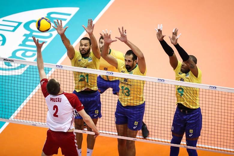 PŚ siatkarzy: Polska - Brazylia