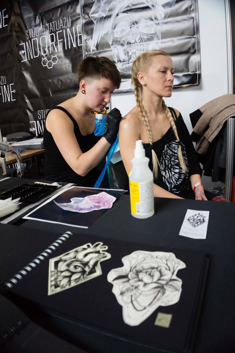 Tattoo Week w Białymstoku. Malowanie ciała. Na jeden dzień lub na zawsze (zdjęcia)