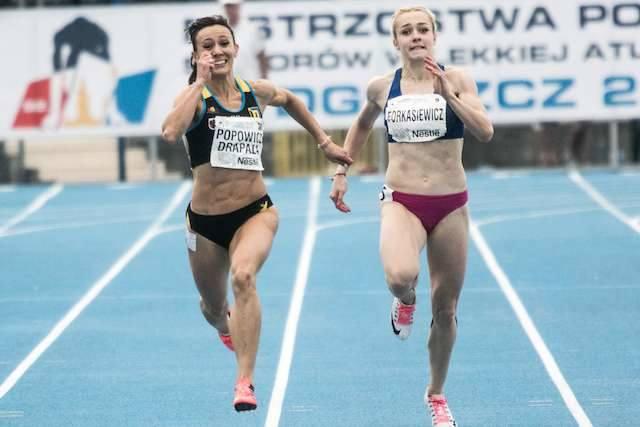Marika Popowicz-Drapała wystartuje indywidualnie na 100 m i w sztafecie 4x100 m