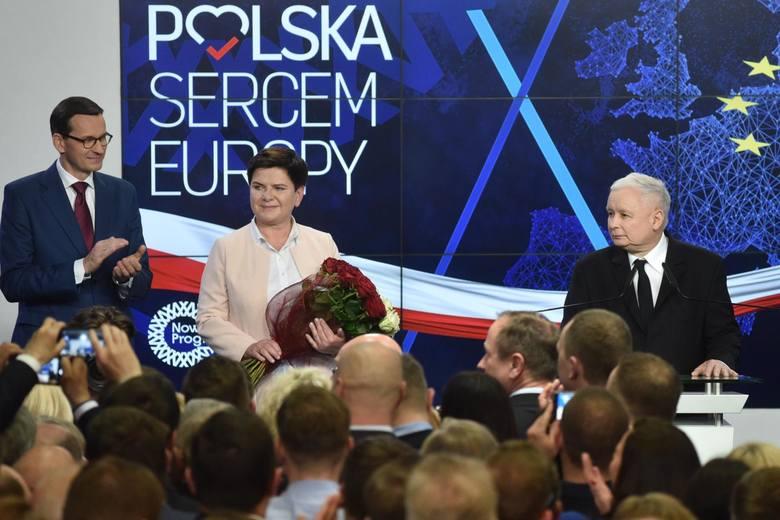 Wybory do europarlamentu 2019: Pół miliona głosów na Beatę Szydło