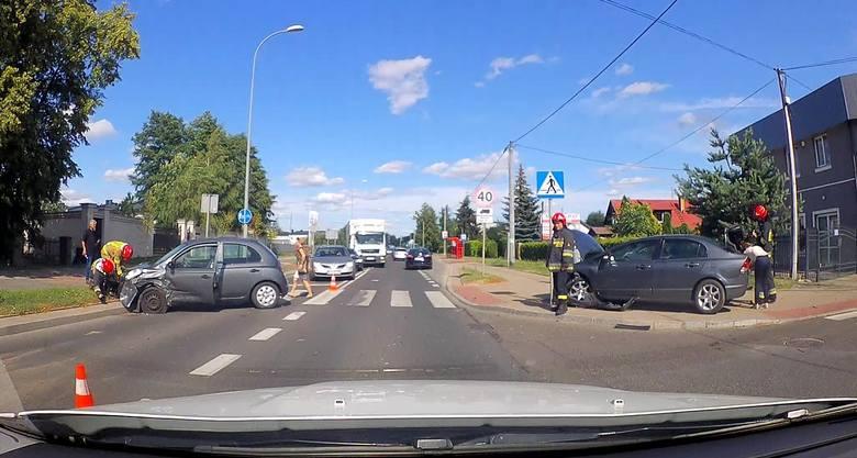W piątek, o godz. 16.02, podlascy strażacy otrzymali informację o wypadku na skrzyżowaniu ulic Baranowickiej z Wczasową