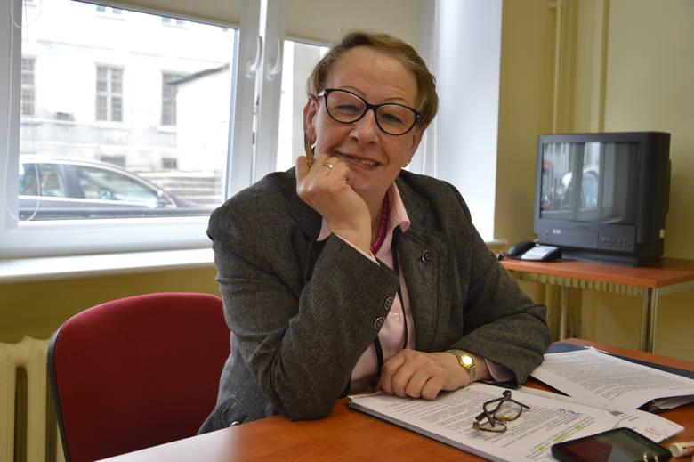 Barbara Napiórkowska kieruje wydziałem gospodarki nieruchomościami w gorzowskim magistracie