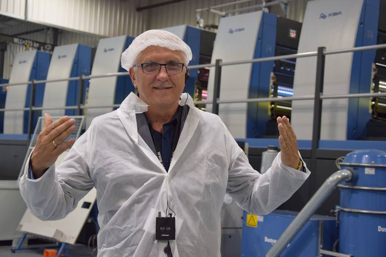 Wadim Tyszkiewicz chętnie odwiedza firmy, które inwestują w Nowej Soli.
