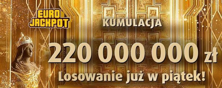 EUROJACKPOT WYNIKI 19.04.2019. Eurojackpot Lotto losowanie 19 kwietnia 2019. Do wygrania jest 220 mln zł! [wyniki, numery, zasady]