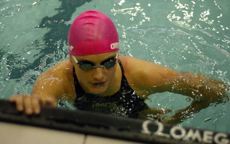 Aleksandra Urbańczyk znów pokazała, że jest świetną pływaczką