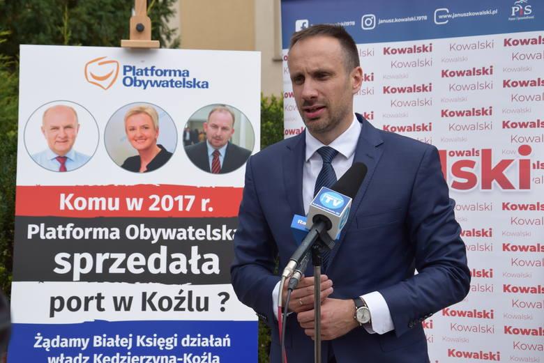 Wojna o port pod urzędem miasta. Janusz Kowalski atakuje władze miasta. Robert Węgrzyn mówi o wielkiej aferze PiS