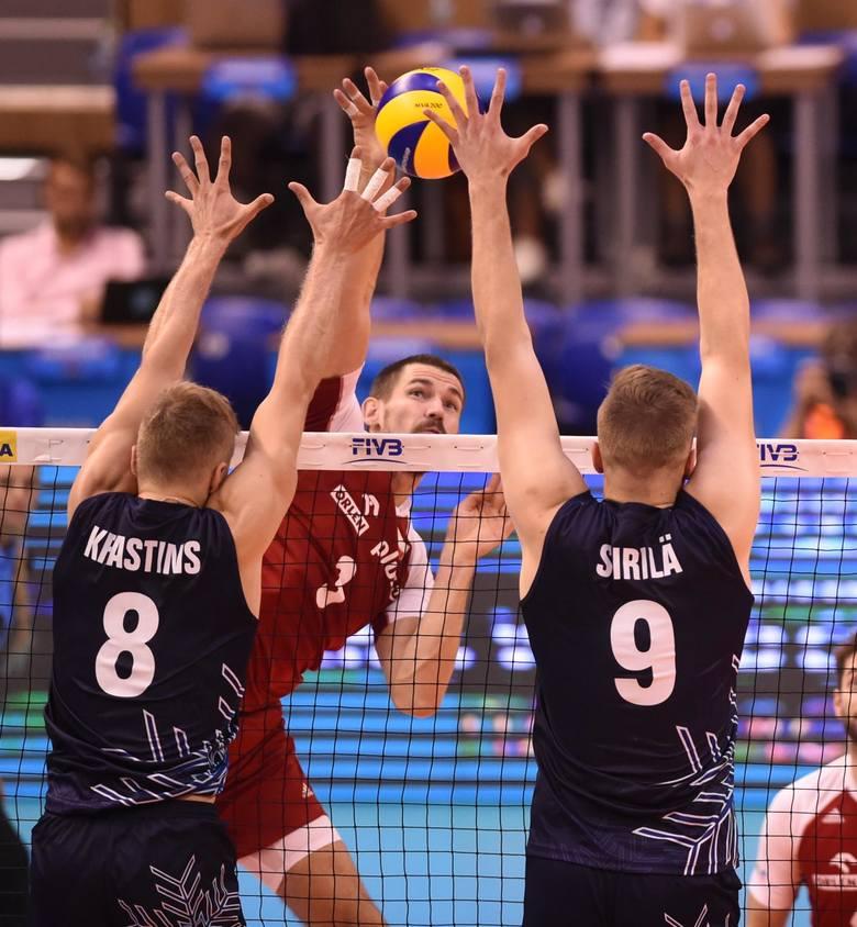 Polacy grali z Finami na MŚ 2019