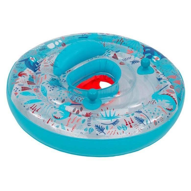 Decathlon ostrzega klientów - jeden z popularnych produktów dla dzieci może być bardzo niebezpieczny! Chodzi o nadmuchiwanie kółko z siedzeniem ALL SLOT