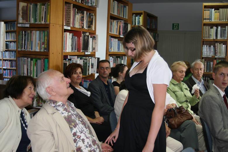 Wieczór literacki: Agnieszka Ochenkowska