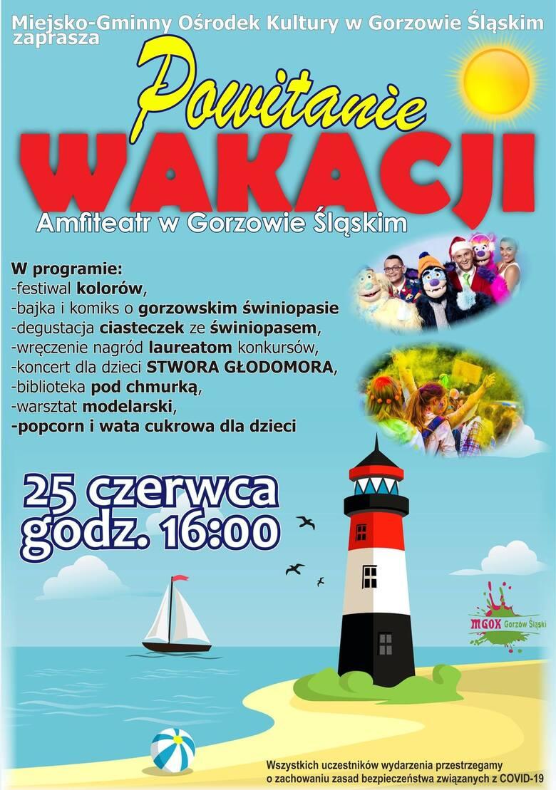 Program imprezy w Gorzowie Śląskim