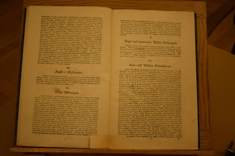 Pierwodruk Konstytucji 3 maja.