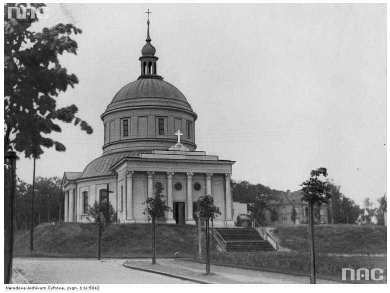 Kościół św. Jana Vianneya przy ulicy Podlaskiej - 1935 rok