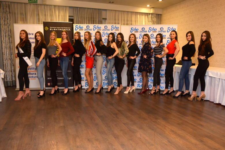 Prezentujemy najpiękniejsze dziewczyny regionu radomskiego, które pod koniec maja wezmą udział w finale konkursu Miss Ziemi Radomskiej 2019. ZAGŁOSUJ