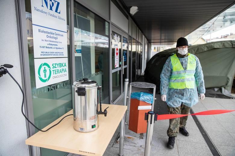 W BCO wciąż czekają na wyniki badań pracowników i pacjentów szpitala