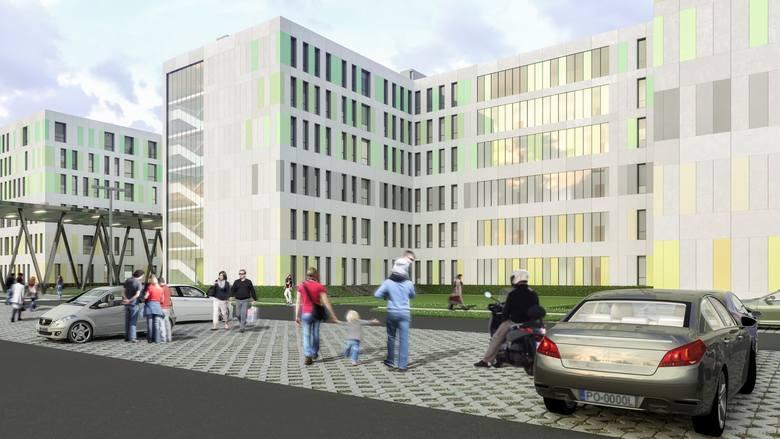 Szpital zaplanowano na 354 łóżka, wszystkie w salach jednoosobowych z własnym węzłem sanitarnym (z niewielkimi wyjątkami).