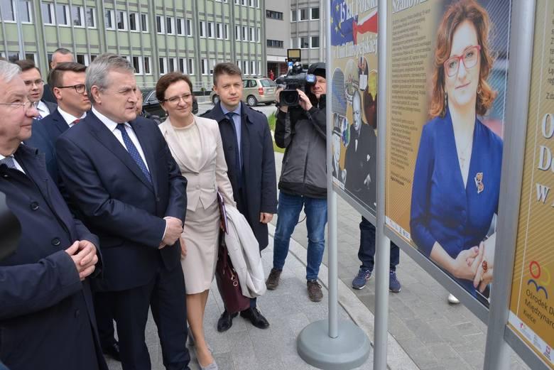 Piotr Gliński w Kielcach. Mówił o Unii Europejskiej oraz ochronie dóbr kultury