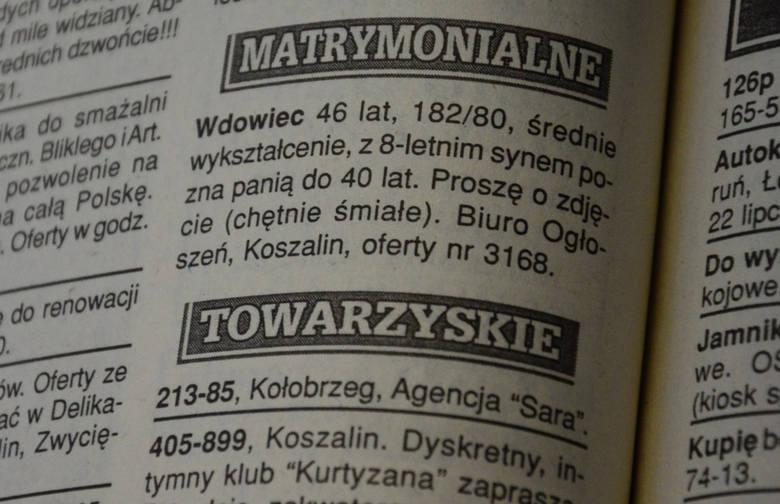 3679d2faca Z archiwum Głosu - ogłoszenia matrymonialne. Wdowa miła