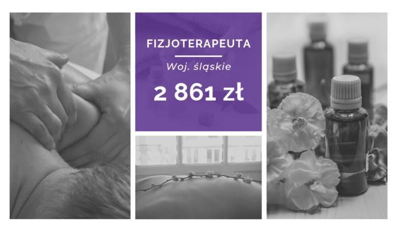 Ile zarabia fizjoterapeuta? Porównaj zarobki w różnych miastach i województwach
