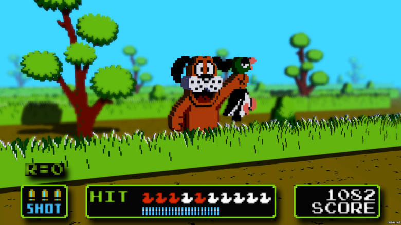 Wydana w 1984 roku gra na NESa gra jest bardzo prosta w opisaniu. Naszym zadaniem jest umieścić kontroler tam, gdzie akurat zauważamy uciekającą z pola