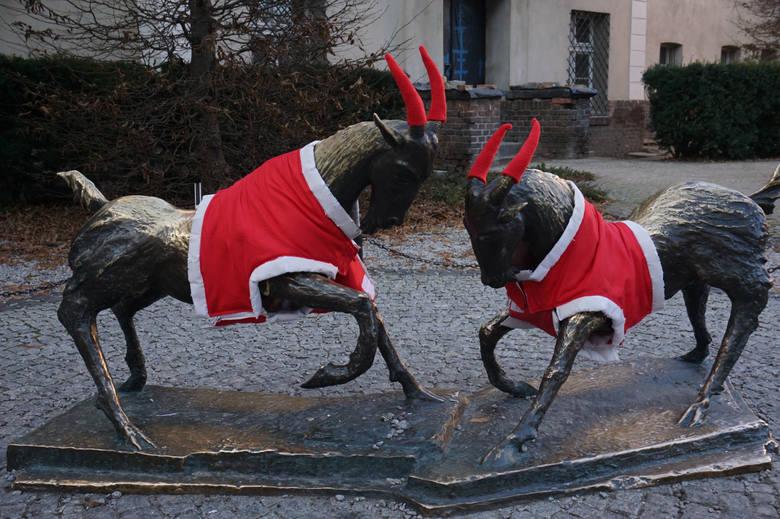 Przebieranie koziołków na Boże Narodzenie stało się już tradycją.