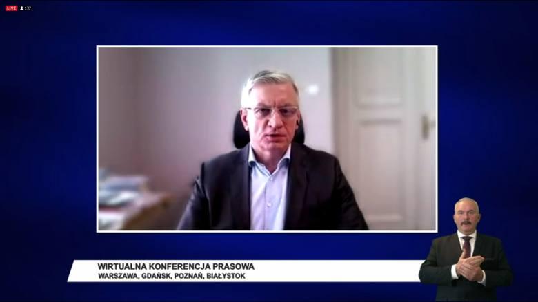 Prezydent Poznania Jacek Jaśkowiak podkreślał zaś, że zamiast wyborami rządzący powinni zająć się pomocą przedsiębiorcom. - Biznes oczekuje konkretów. <br />