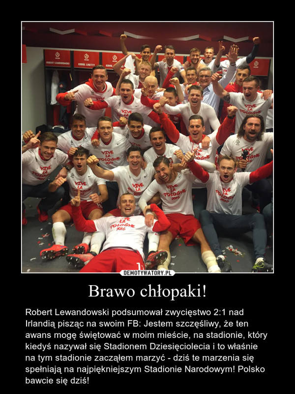 Memy po meczu Polska-Irlandia i awansie do Euro 2016