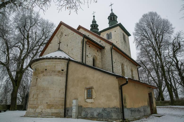 XIII-wieczny romański kościół św. Mikołaja