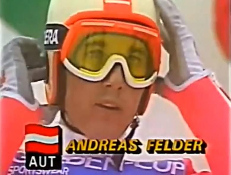 8. ANDREAS FELDER (Austria)25 wygranych w Pucharze Świata. Pierwsza - 8 grudnia 1982; ostatnia -29 marca 1992