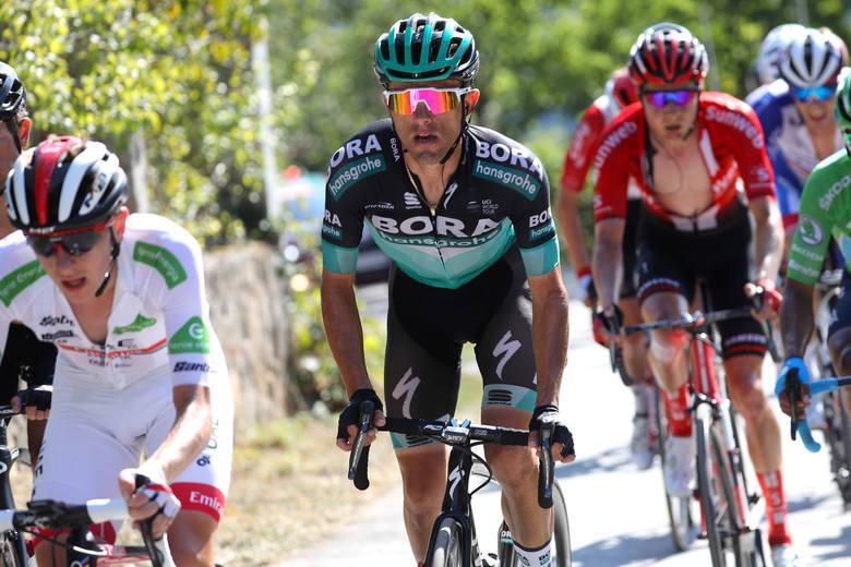 Vuelta Espana: Rafała Majkę wyprzedzili uciekinierzy. To był najszybszy etap tegorcznej edycji