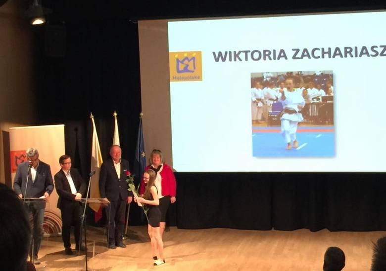 Trio z Krakowskiego Klubu Karate Tradycyjnego wyróżnione