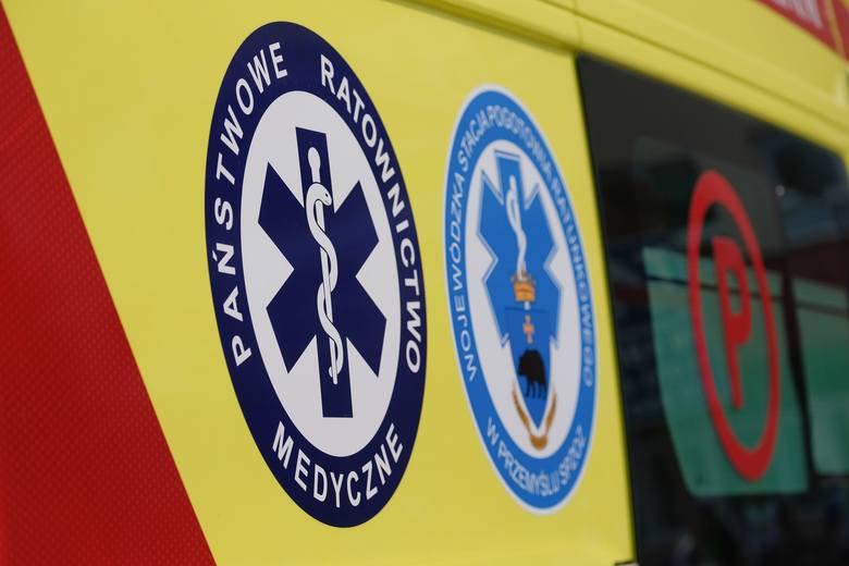 Wypadek w Rzeszowie. Ranne są dwie pasażerki autobusu MPK
