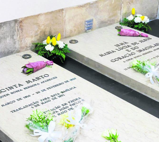 Groby Hiacynty Marto i siostry Łucji dos Santos