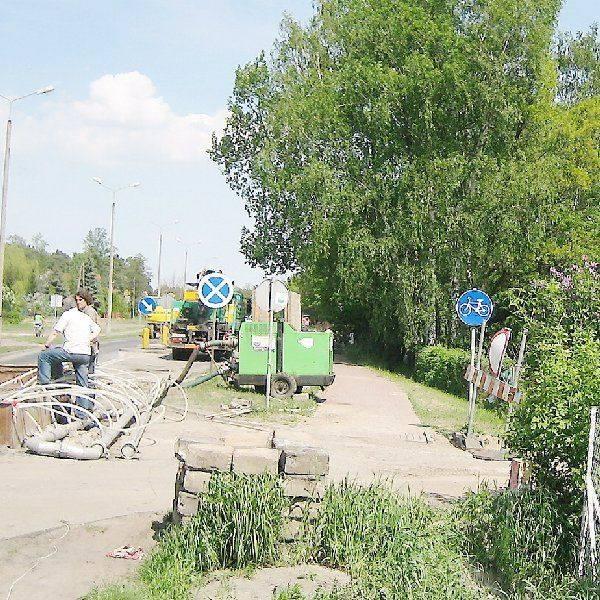 W Michelinie trwają ostatnie prace  związane z rozbuudową kanalizacji. Potem  naprawiane będą ulice, wśród nich al. Jana  Pawła II.