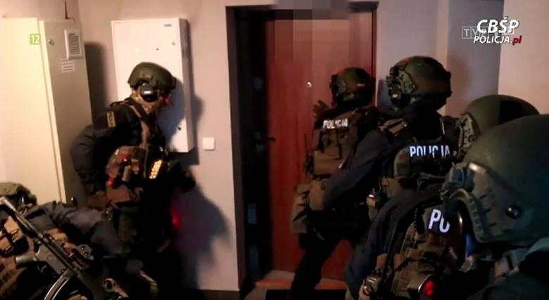 Policja rozbiła gang narkotykowy pseudokibiców Górnika Zabrze