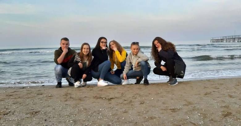 Uczniowie z Zespołu Szkół Rolniczo-Technicznych w Zwoleniu odbywali dwutygodniowe szkolenia w Rimini i San Marino.