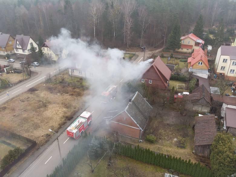 W sobotę, około godz. 10, podlascy strażacy otrzymali informację o pożarze w Supraślu.