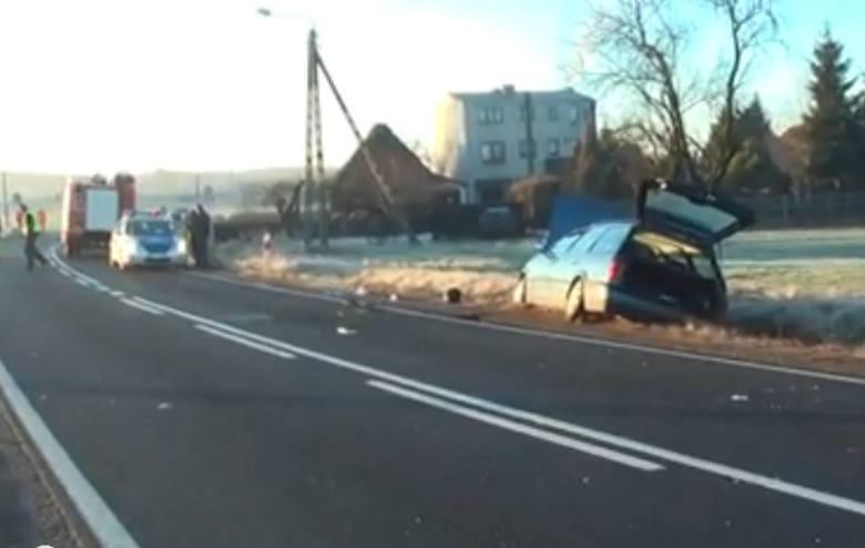 Tragiczny wypadek w Wierzbiu