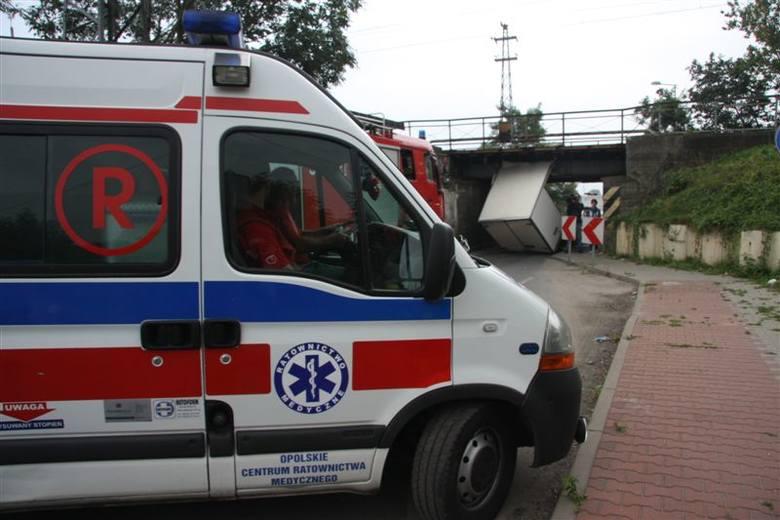 Wypadek na Krapkowickiej w Opolu