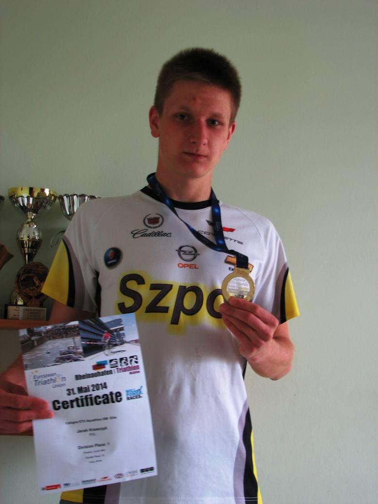 Jacek Krawczyk z UAM Szpot Poznań odniósł w miniony weekend największy sukces w karierze