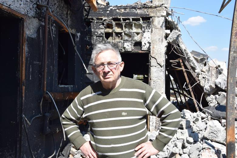 Całkowicie spalił się zakład rodzinny pana Henryka. Od prawie 50 lat pan Henryk prowadził zakład szklarski, a od niedawna także produkował opakowania
