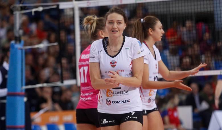 Jelena Blagojević, zawodniczka Developresu po pokonaniu ŁKS-uJedenastka jesieni Fortuna 1 Ligi