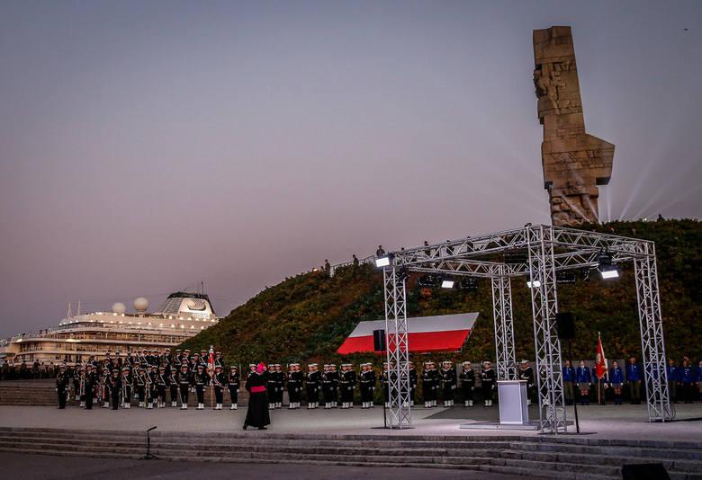 Obchody 80. rocznicy wybuchu II wojny światowej na Westerplatte 1.09.2019